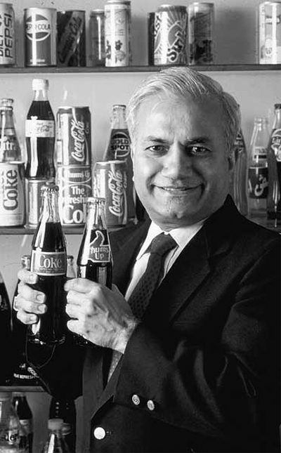 Ramesh Chauhan, man who once sold Thunder in a bottle