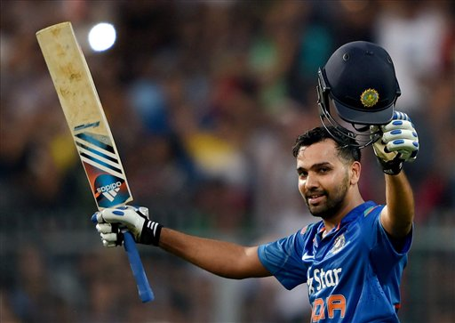 Rohit Sharma completes hattrick at ESPN Cricinfo Awards
