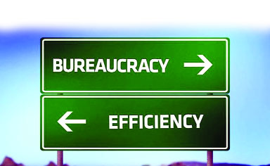 meaning of bureaucracy in hindi