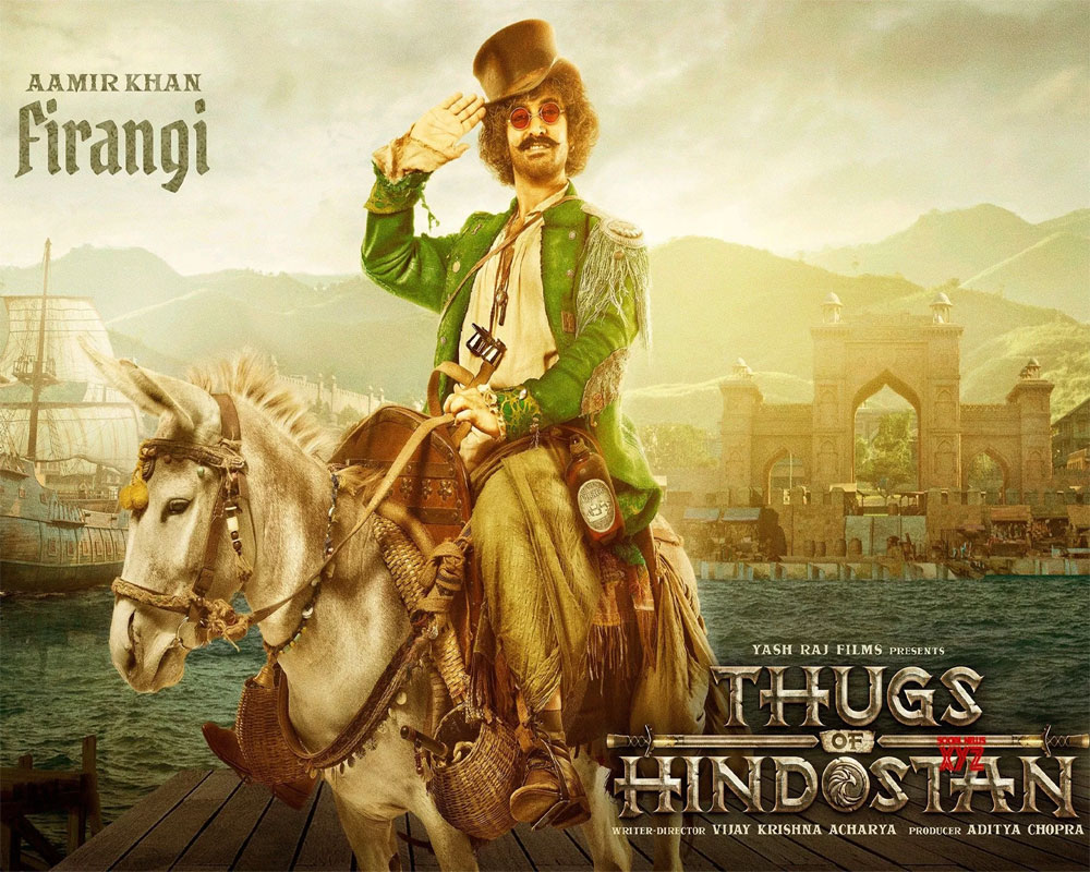 'Thugs of Hindostan': Aamir Khan steals the show