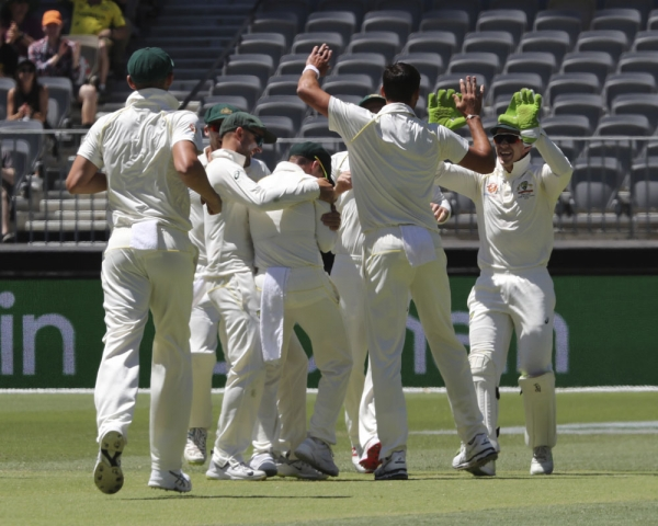 Australia beat India by 146 runs in second Test, series levelled at 1-1