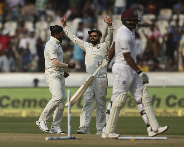 India complete Windies rout as Umesh takes maiden 10-wicket haul