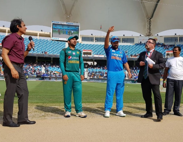 Pakistan opt to bat against India