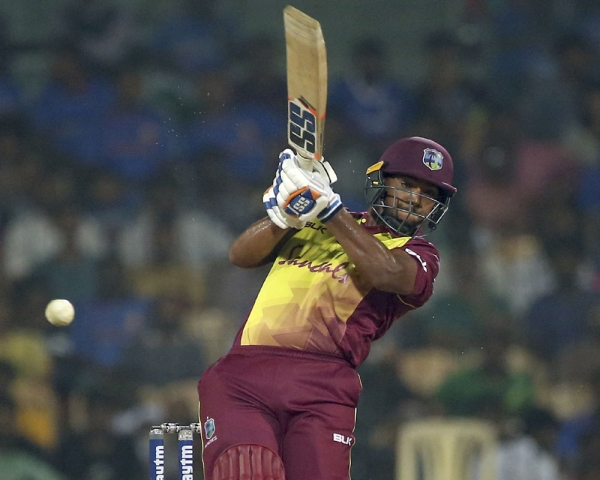 Pooran's 53 takes West Indies to 181-3 against India in 3rd T20I