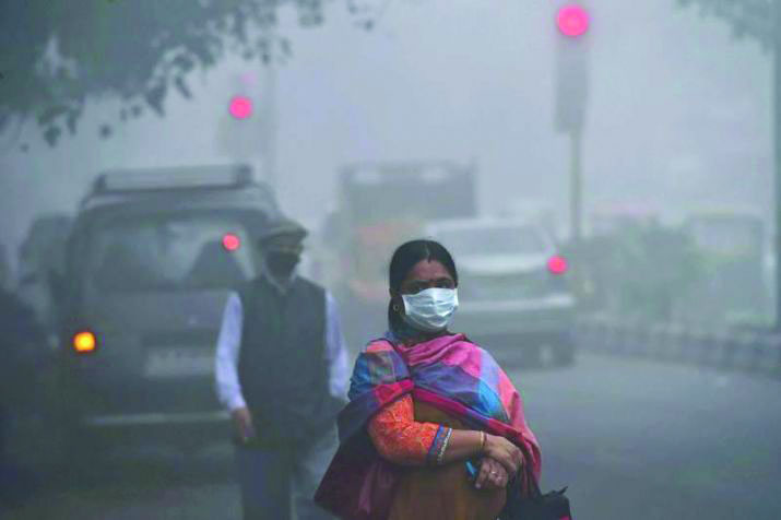 Air pollution took life of 12.4 lakh Indians in 2017