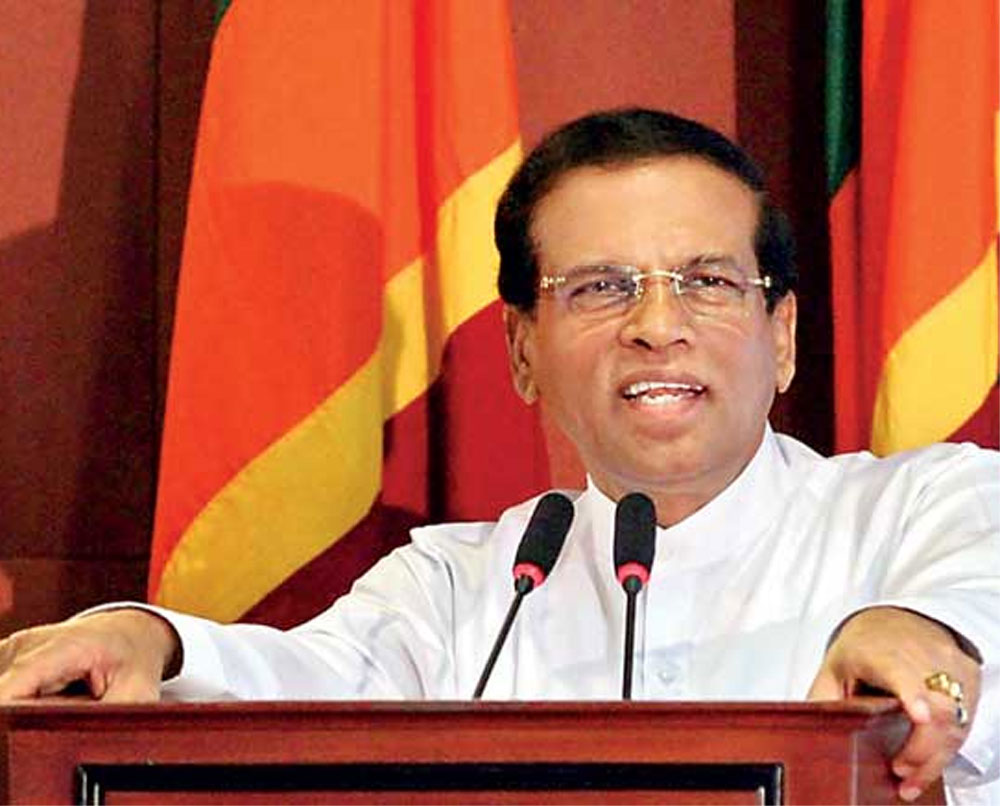 Airline removes nuts after Sri Lanka president's rage