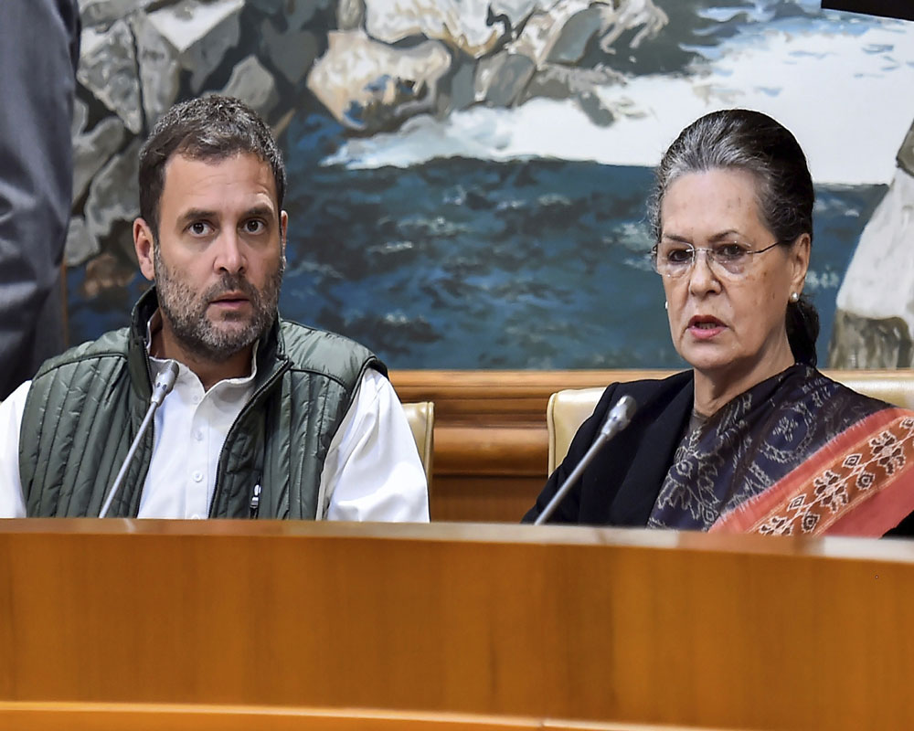Assembly poll results: Sonia says Cong's victory over BJP's negative politics