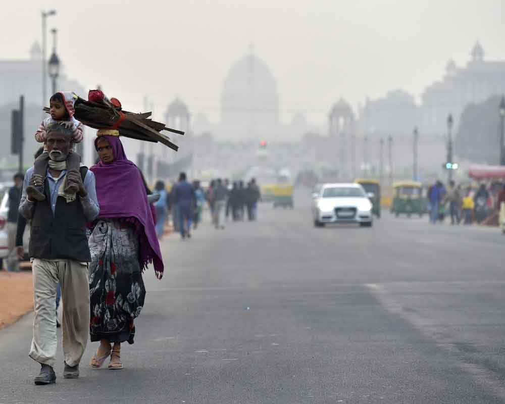 At 3.7 degrees C, Delhi records coldest December day in 12 years
