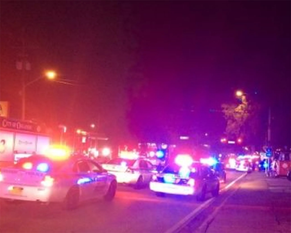 At least 11 reported wounded in California bar shooting