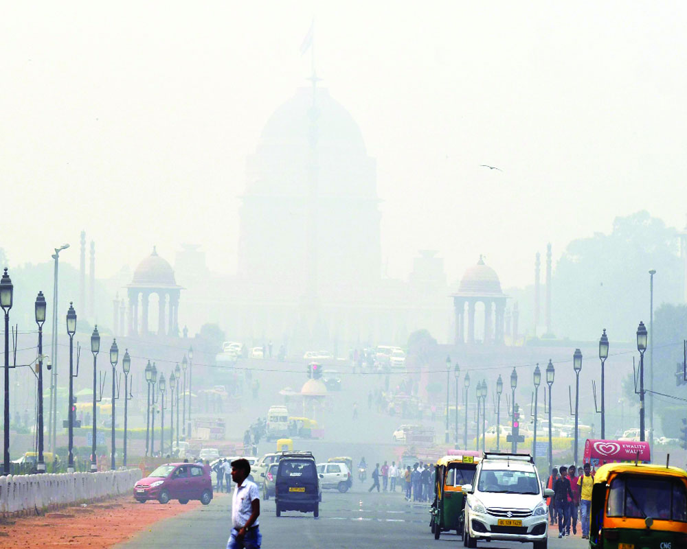 Delhi air worsens post Diwali