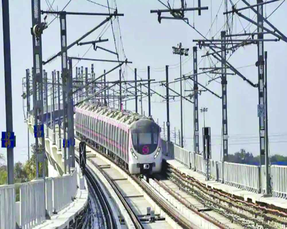 Delhi Metro to jump to top 3rd in world