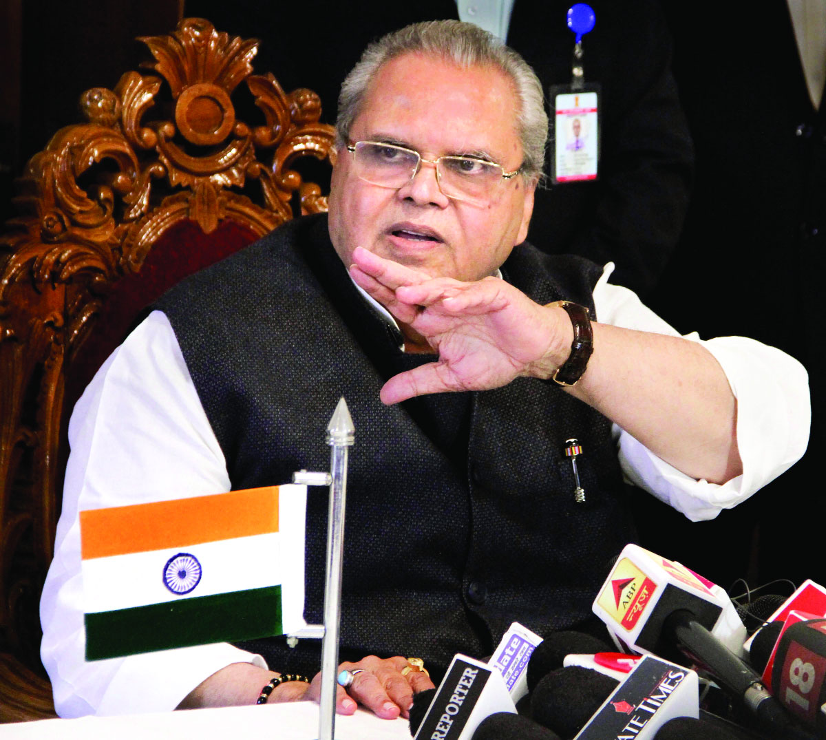 Dissolved House as  Centre wanted Lone  as CM: J&K Guv