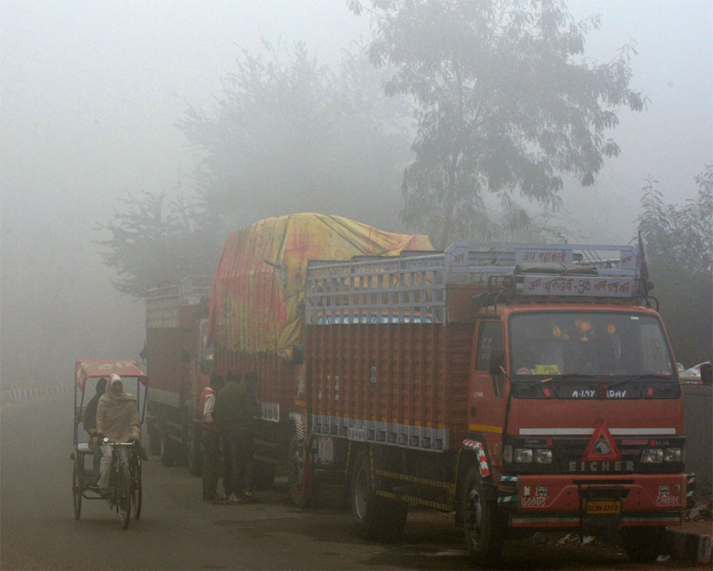 Entry of heavy and medium goods vehicles into Delhi banned for three days