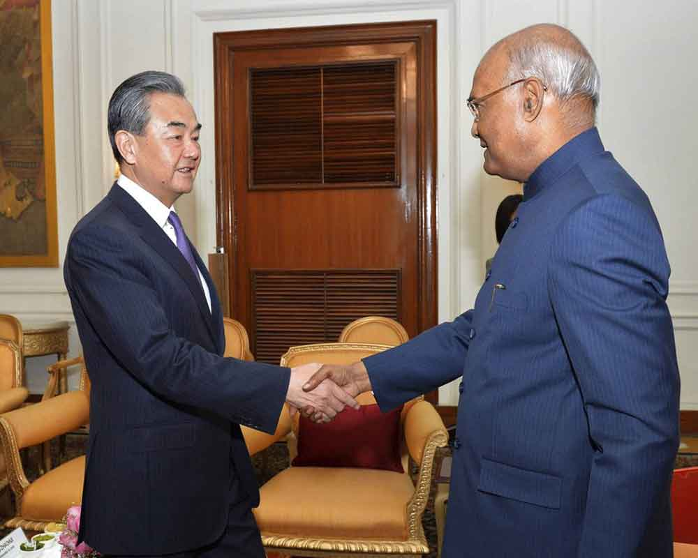 Expansion in India-China ties in mutual interest of both nations: Kovind
