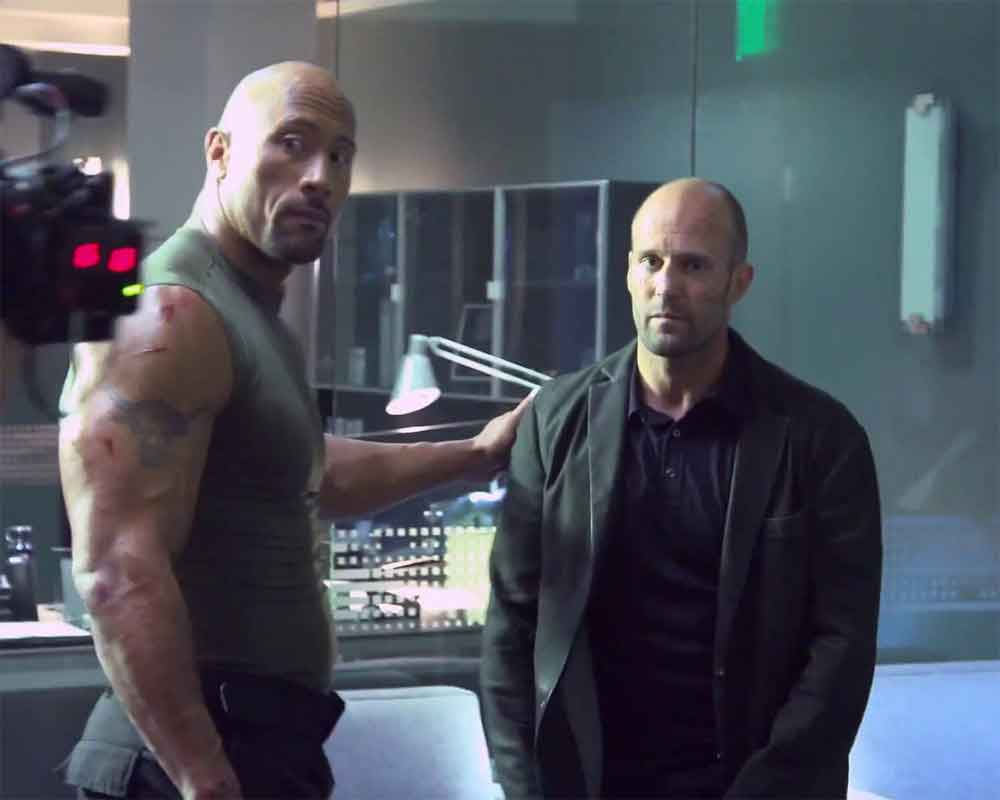 Fans Will See Dwayne Johnson And Jason Statham S Biting