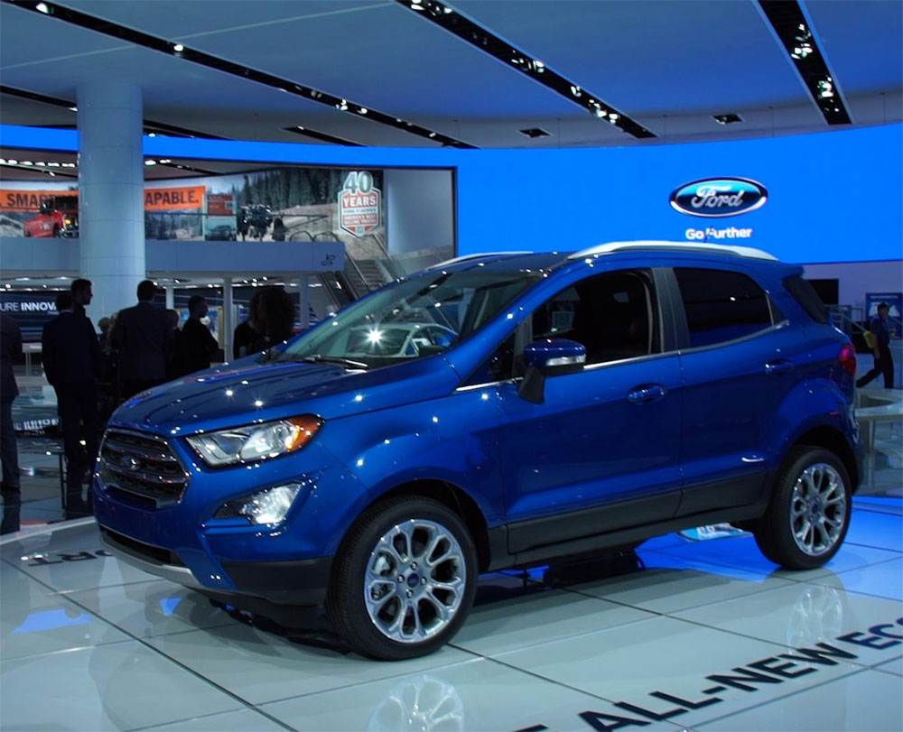 Ford India to update powertrain control software on 7,249 EcoSport