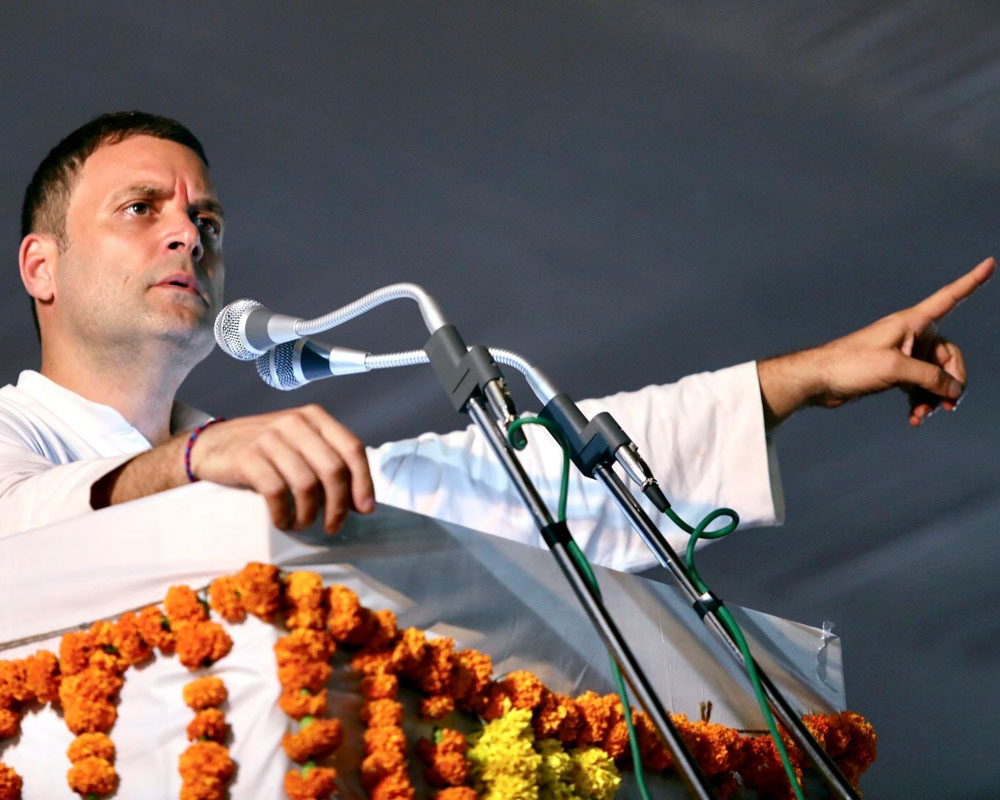 Government yet to 'invent' justification for Rafale: Rahul