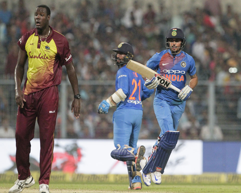 India beat West Indies by 5 wickets in first T20 International