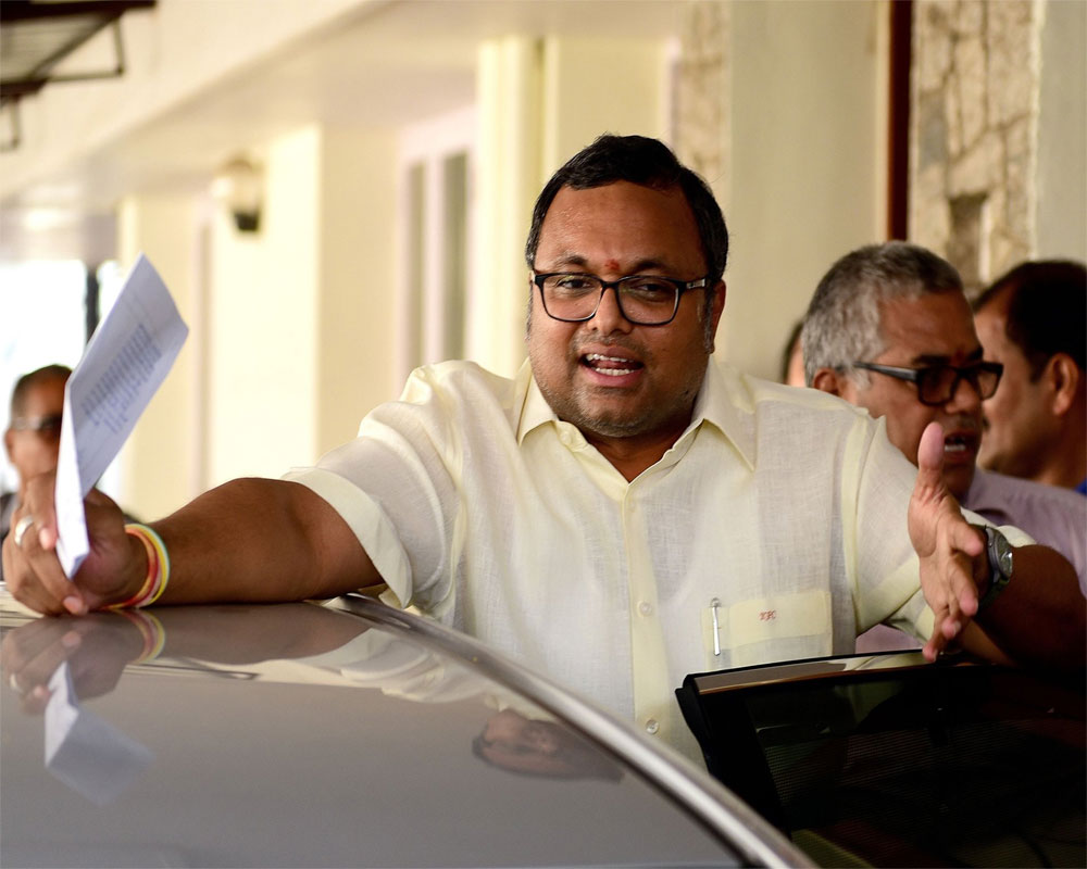 INX Media PMLA case: ED attaches Karti's assets worth Rs 54 cr in India, UK, Spain