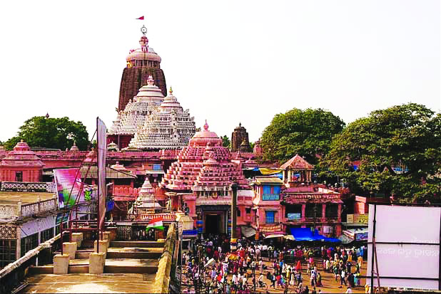 Jagannath Puri temple out of bounds for gun-toting booted cops
