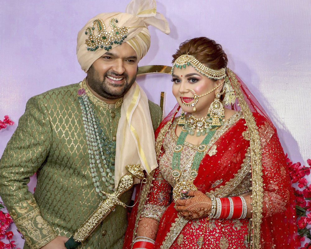 Image result for Kapil sharma and Ginni Chatrath