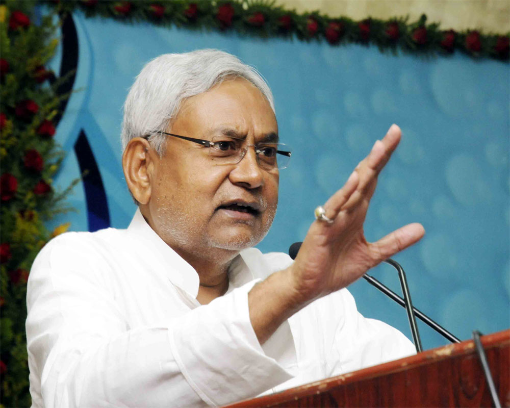Man hurls slipper at Nitish's direction, thrashed by JD(U) supporters