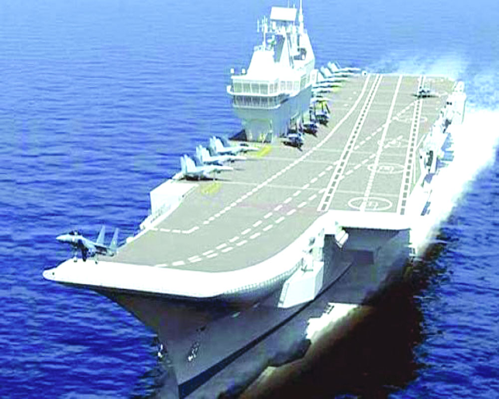 Navy Chief makes fresh pitch for 2nd desi aircraft carrier