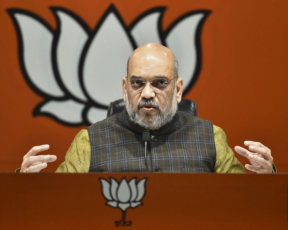 No One Ever Had Any Doubt On Congress Role In 1984 Riots Amit Shah