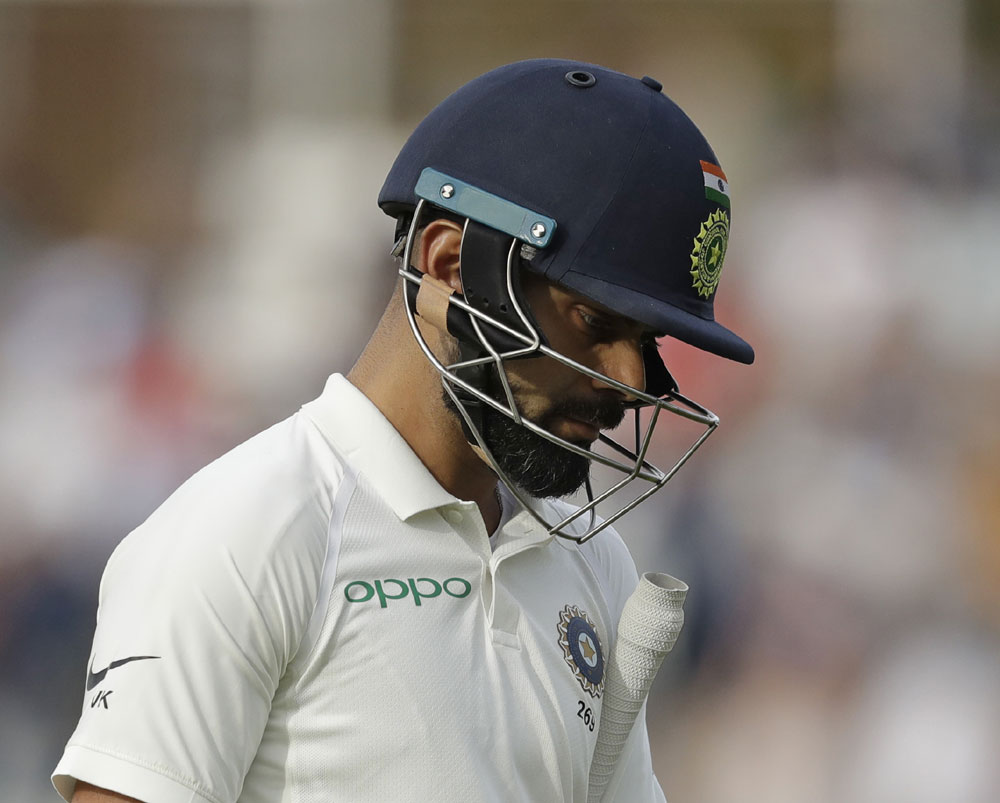 Not hard to take, don't require massive correction, insists Kohli