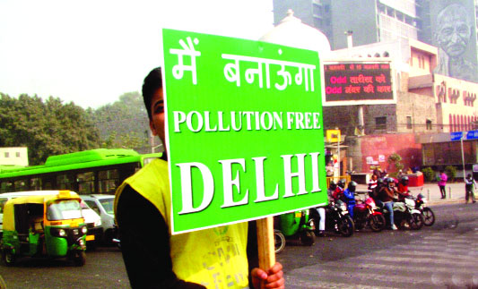 Odd-even may return as Capital battles toxic air