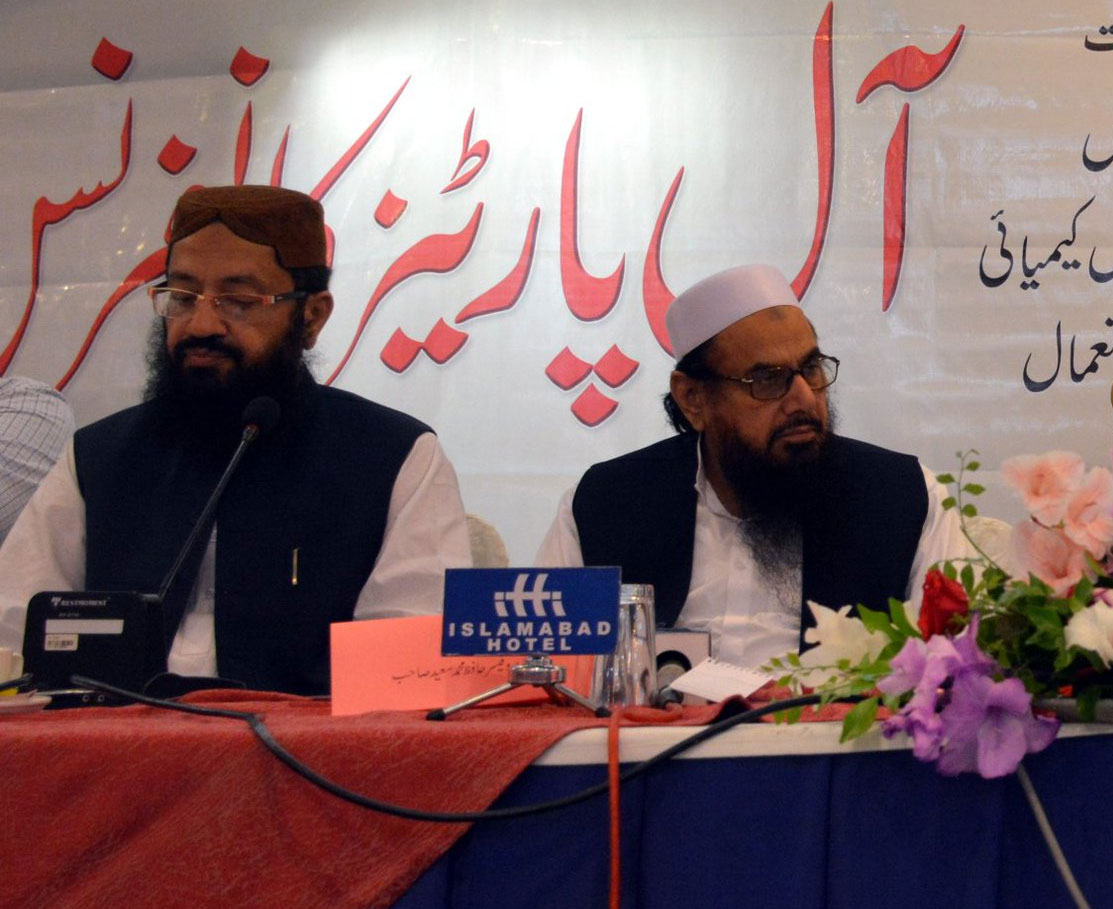 Pak Minister attends event with 26/11 mastermind Hafiz Saeed