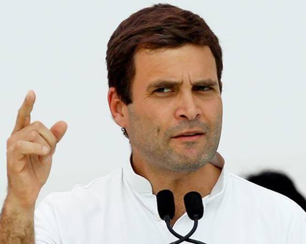 Rahul demands immediate probe into allegations made by Mallya, asks FM to step down