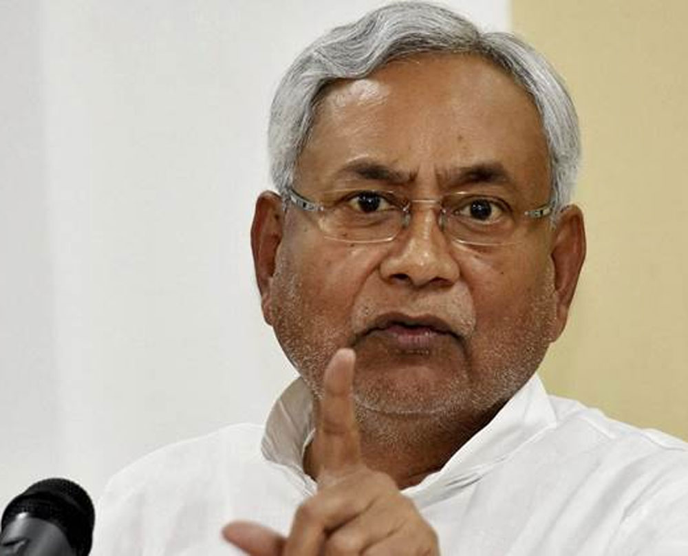 Rule of law is state govt's constitutional obligation: Nitish