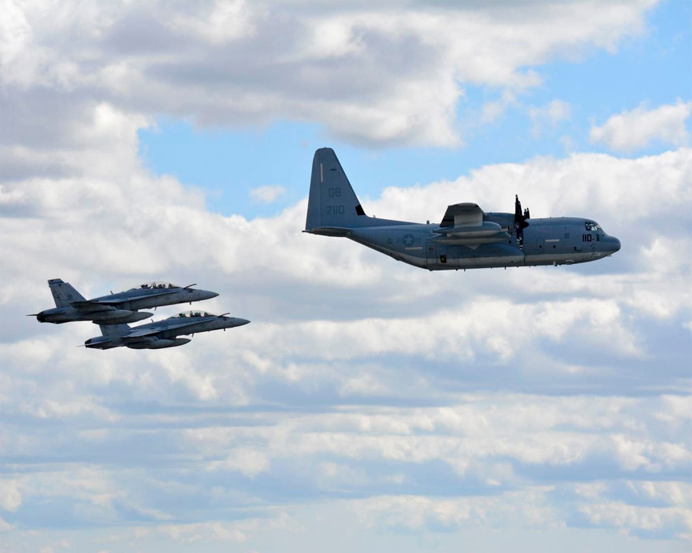 Six missing after two US military planes crash off Japan: Officials