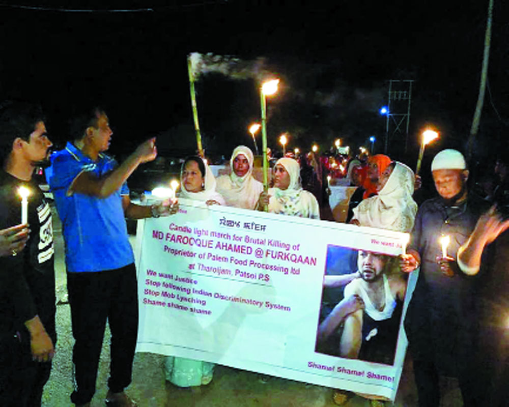 Stereotyping for lynching in Manipur!
