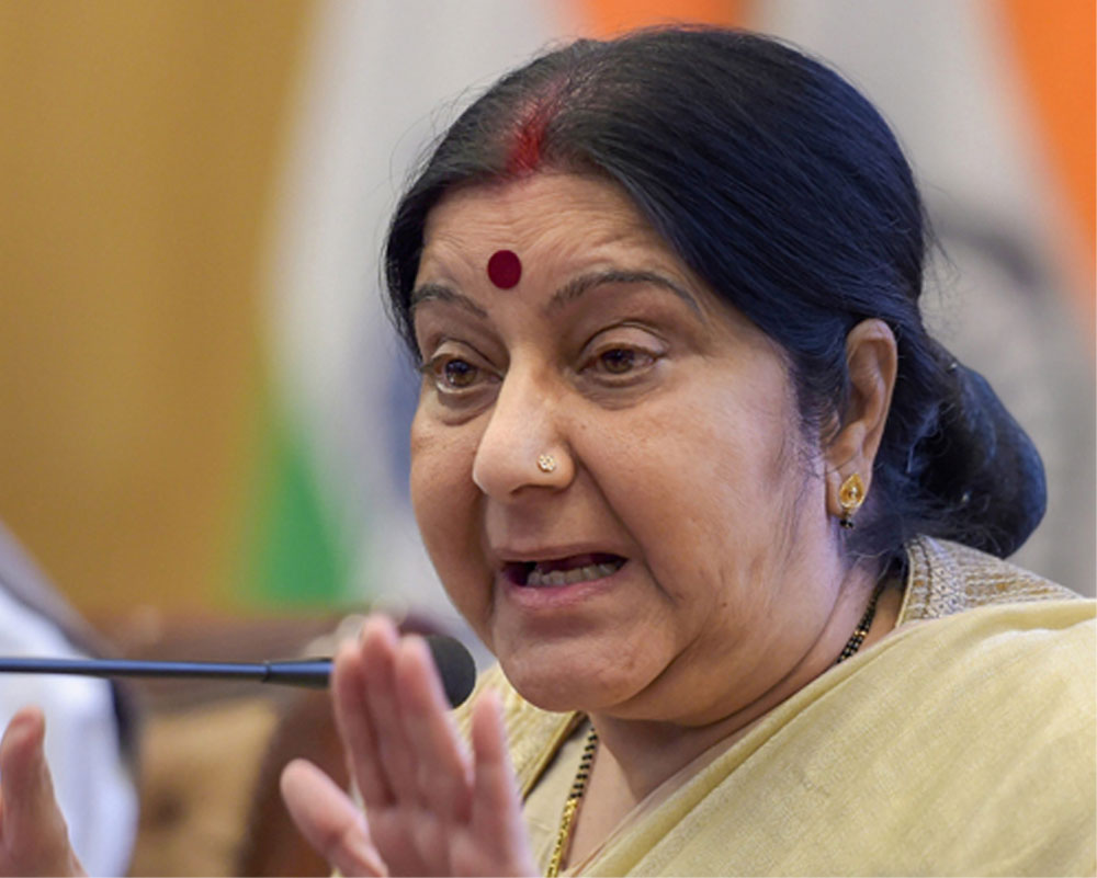 Swaraj, Russia's Deputy PM review progress in bilateral cooperation