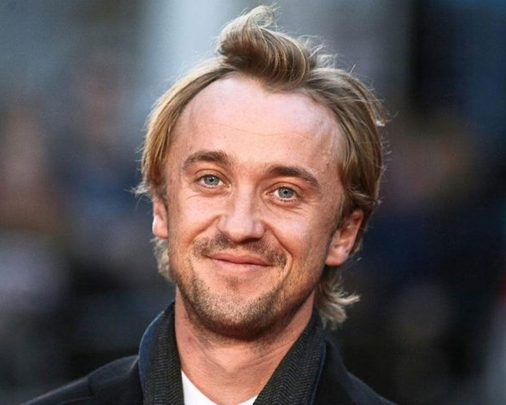 tom felton plans to rewatch all harry potter on a
