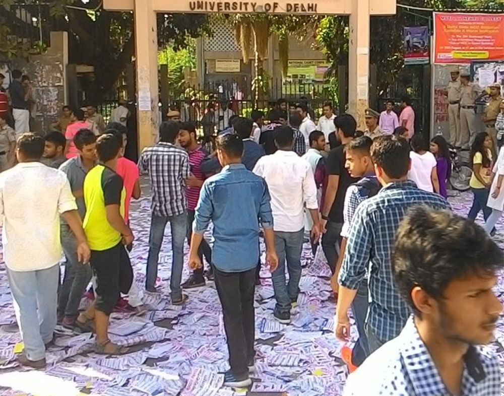 Voting underway for DUSU polls at 52 centres