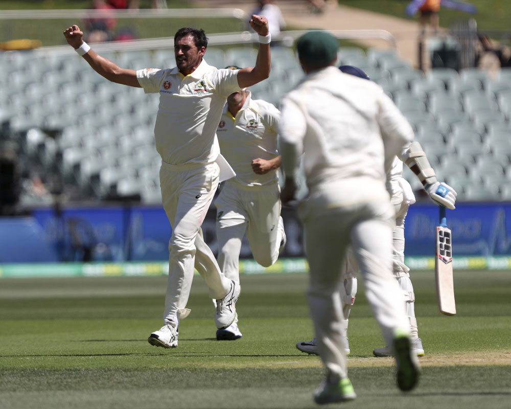 We'll take 250-9 but got a bit wrong in end: Starc