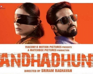 'AndhaDhun' top Indian movie of 2018: IMDb