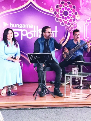 'Ganesh vandana made on a lark with tune in mind'