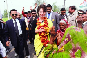 Cong might play Priyanka card in UP to rein in Modi