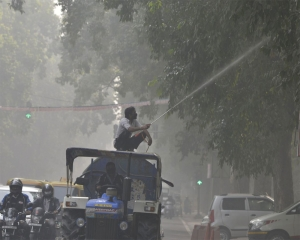 Artificial rain likely this week to clear air in Delhi of pollutants