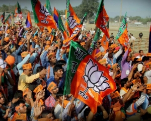 BJP sweeps urban local body polls in 4 districts of S Kashmir
