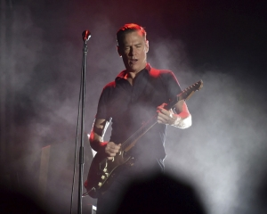 Bryan Adams meets AR Rahman and his son after Mumbai gig