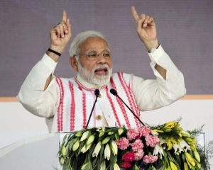 Cong indulging in mud-slinging because it dare not debate Development: PM