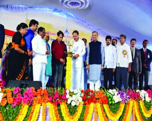 Foundation stone laid for construction of new integrated Terminal building of Vijayawada Airport