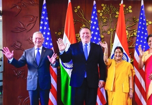 In first 2+2 talks, India, US ask Pak to raze terror launch pads