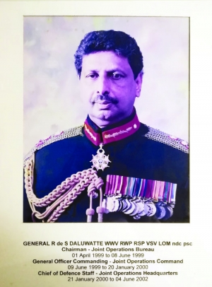 In remembrance of a versatile General