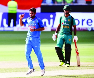 India Ease past pakistan